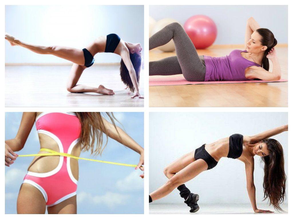 Комплекс для похудения талии и живота